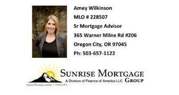 Amey Wilkinson - Sunrise Mortgage